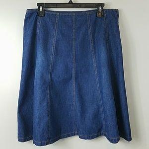 Style & Co Denim Skirt